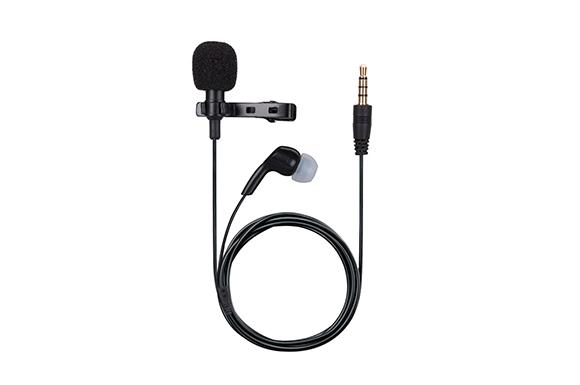 AGPTEK 高性能 マイクロフォン 外部マイク イヤホン付き カラオケ 指向性 ハンズフリー ミニクリップ 音楽録音/撮影/インタビュー/チャット可能 カメラ/携帯/PCなど機器に対応 Z02E ブラック