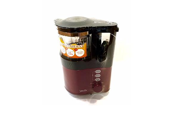 コイズミ スープメーカー レッドVitalie(ビタリエ) KSM-1000/R