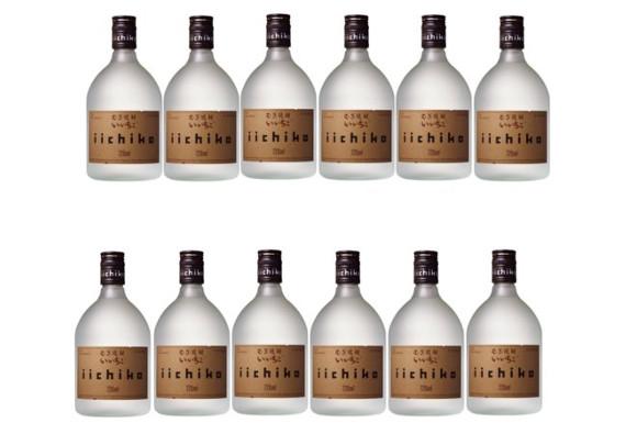 いいちこ シルエット 麦25°/三和酒類(大分)  720ML × 12本
