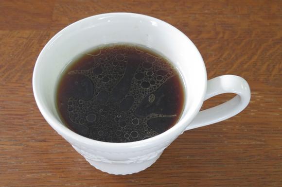 MCTオイルを入れたコーヒー
