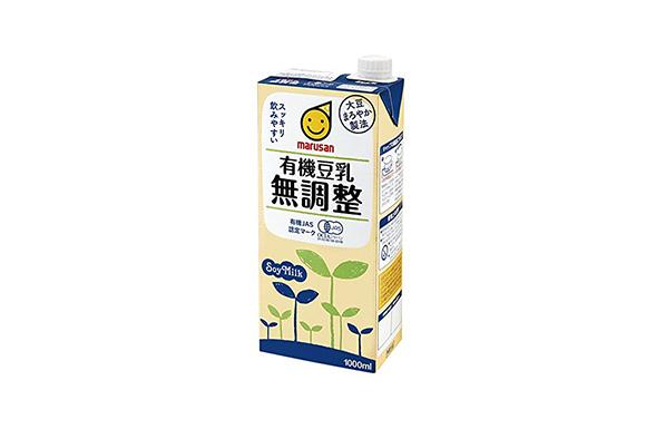 マルサン 有機豆乳無調整 1000ml×6本