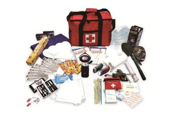 防災セット【21項目42点セット】災害対策 防災家族用 下駄箱収納 非常用持ち出し