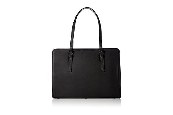 【MOIERG】就活 リクルートバッグ バッグ ブラック 黒 A4サイズ対応 (81-11007)