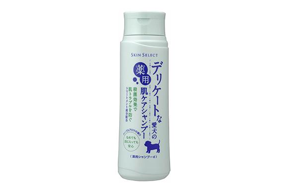アース・ペット デリケートな愛犬の薬用肌ケアシャンプー 350ml