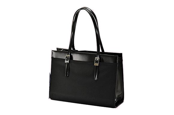 (ヴァレンチノ ヴィスカーニ) VALENTINO VISCANI 53411 ブラック A4ファイルサイズ対応 レディース リクルート ビジネスバッグ