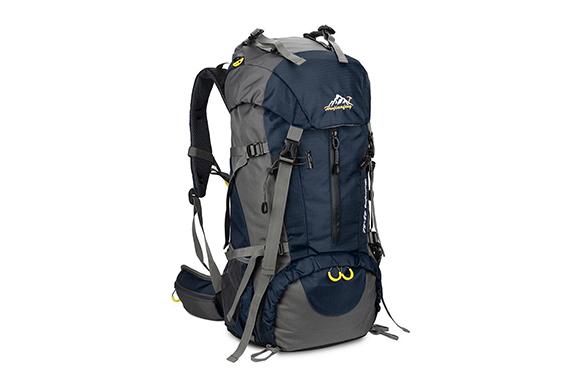 スカイスパー(Skysper)登山リュック ザック バックパック、50L 大容量 ナイロン 通気、レインカバー付き、レディース メンズ、ハイキング 旅行 キャンプ 防災 避難