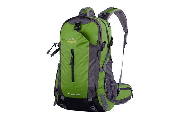 FENYI 登山リュック 50L リュックサック 大容量 登山用ザック バックパック 撥水 耐久性 防水 防震 通気 レインカバー付き 14インチパソコン収納間隔 多機能バッグ 各種ポケット搭載 アウトドアバッグ 旅行バッグ