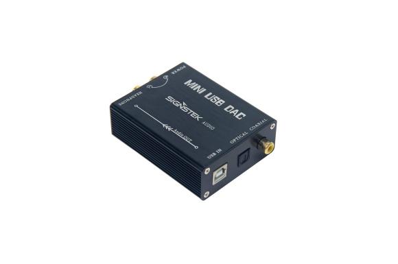 [Signstek]Audio USB-DAC ヘッドフォンアンプ/ コンパクトでUSBケーブル付き