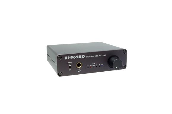 Amulech ヘッドホンアンプ・DAC AL-9628D