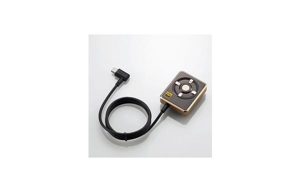 エレコム ハイレゾ DAC for Android microUSB オーディオアダプター ゴールド EHP-AHR192GD