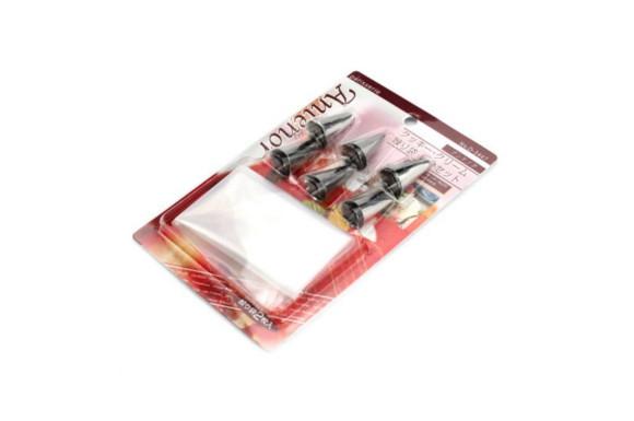 パール金属 アンテノア クッキー ・ クリーム 絞り袋 ・ 口金 セット D-3447