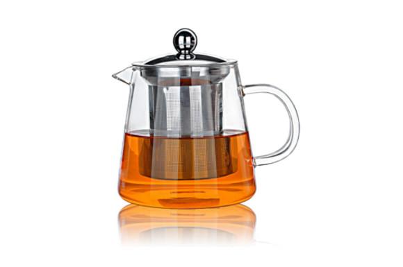 ティーポット 380ミリリットル 急須 ガラス 紅茶ポット かわいい 形状 デザイン