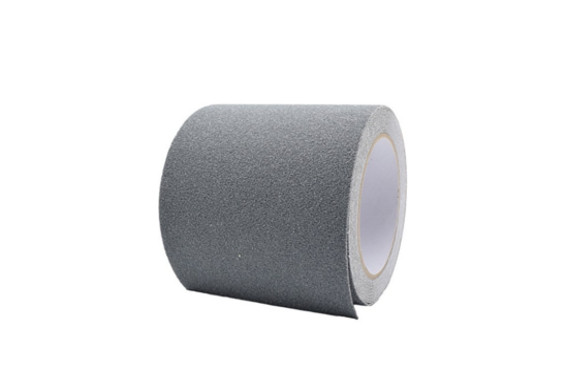 factus 滑り止めテープ ロールタイプ 屋外 階段 耐水性 幅広 100mm×5m (2.灰色)