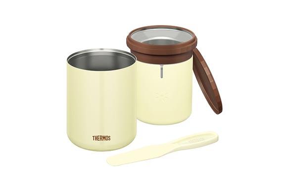 サーモス 真空断熱 アイスクリーム メーカー 200ml クッキー KDA-200 CK