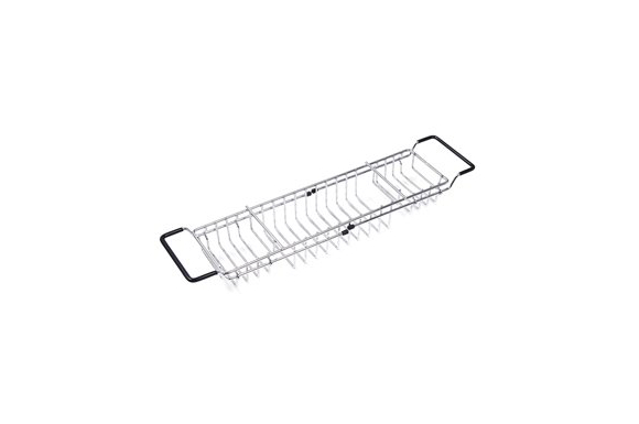 バスタブトレー バスラック バステーブル 伸縮式 ステンレス バスタブラック スマホ iPad 収納 浴槽 アメニック キッチン