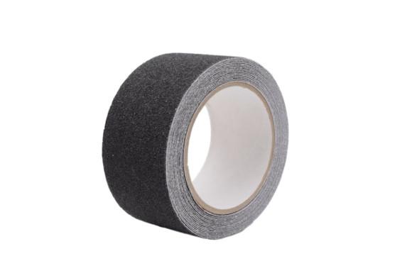 factus 滑り止めテープ ロールタイプ 屋外 階段 耐水性 50mm×5m 全5色 (1.黒色)