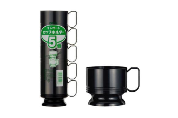 日本デキシー インサートカップF型ホルダー(黒)