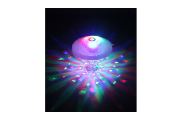 バスタブライト LEDスイミングプールライト 防水 マルチカラー7種ライトモード 子供のお風呂に プールパーティーなど 電池式(バッテリー含まれません)2018ホットバスライトショー