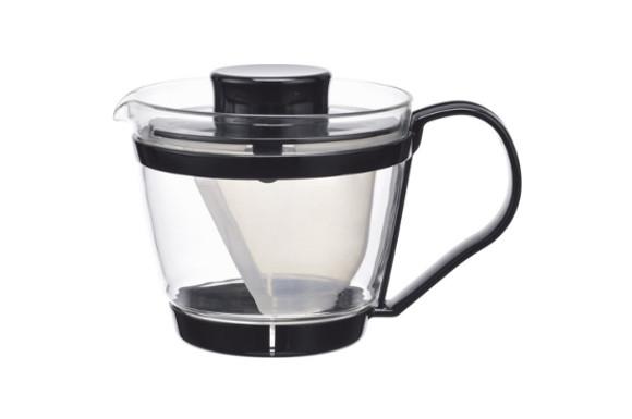 iwaki レンジのポット・茶器 400ml KT863-BK