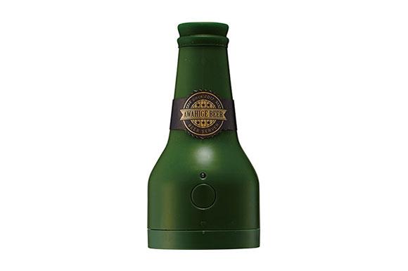 ビアサーバー 泡ひげビアー グリーン 超音波式 ビールサーバー クリーミーな泡 ドウシシャ DBS-17GR