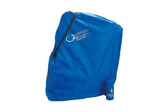 OSTRICH(オーストリッチ) 輪行袋 [ロード220] ロイヤルブルー リア用エンド金具(旧)付属