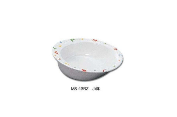 【すくいやすい食器】リズム(メラミン樹脂) 小鉢 ◆大 [MS-43RZ]