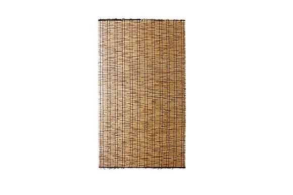 【いぶし焼き すだれ 和 よしず】 天然 黒丸竹 24本編み いぶし焼き こだわり すだれ 88×157cm(B172)