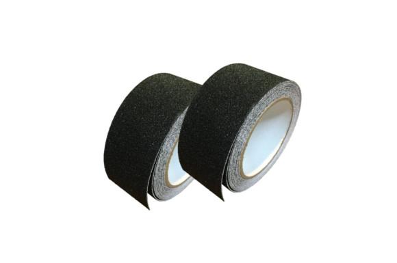 滑り止めテープ ノンスリップテープ 50mm x 10m 貼るだけ簡単 施工 屋外 屋内兼用 すべり止め ブラック