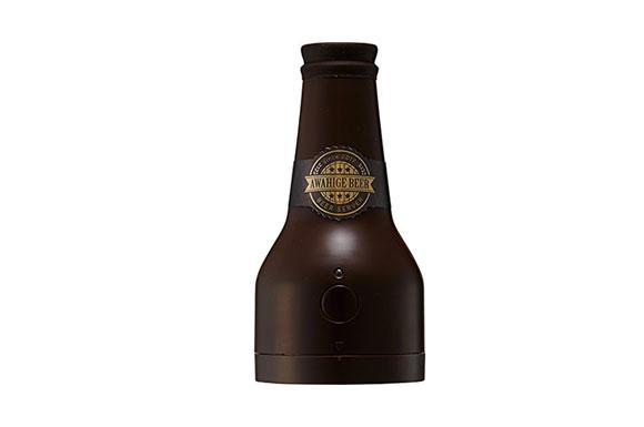 ビアサーバー 泡ひげビアー ブラウン 超音波式 ビールサーバー クリーミーな泡 ドウシシャ DBS-17BR