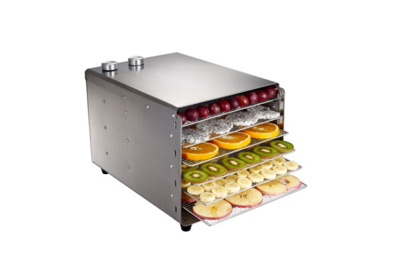 HUKOER 食品乾燥機 ドライフルーツ 野菜ドライヤー ステンレス 家庭用