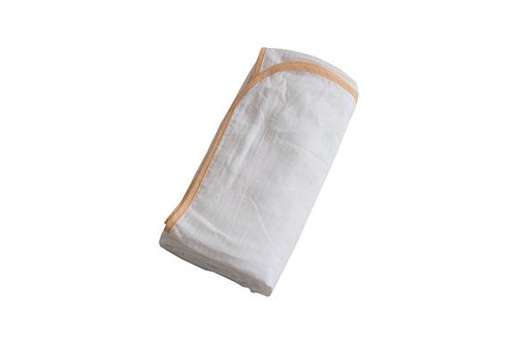 純日本製 ママが選ぶ赤ちゃんの肌にやさしい 3重 ガーゼ ケット(吸湿 保湿 抗菌 防臭)ハーフ オレンジ 48441411