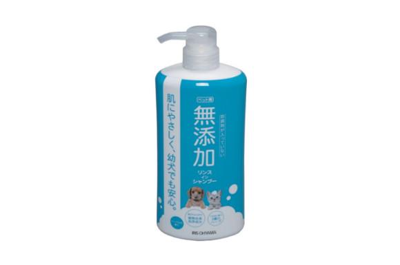 アイリスオーヤマ 無添加リンスインシャンプー 犬猫用 600ml MRS-600