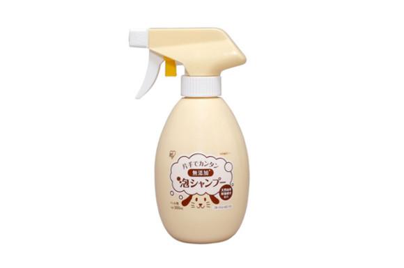 アイリスオーヤマ 片手でカンタン無添加泡シャンプー フルーティシャボンの香り 本体 300ml KMA-300