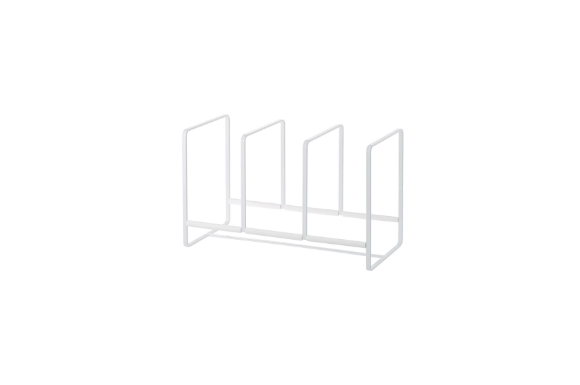 山崎実業 ディッシュスタンド ディッシュラック タワー ワイド L ホワイト 2964