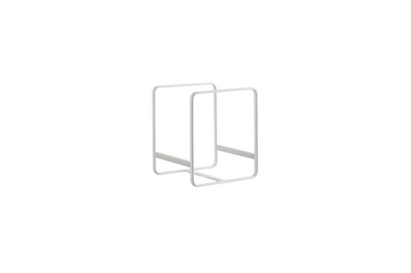 山崎実業 ディッシュスタンド ディッシュラック プレート S ホワイト 2323