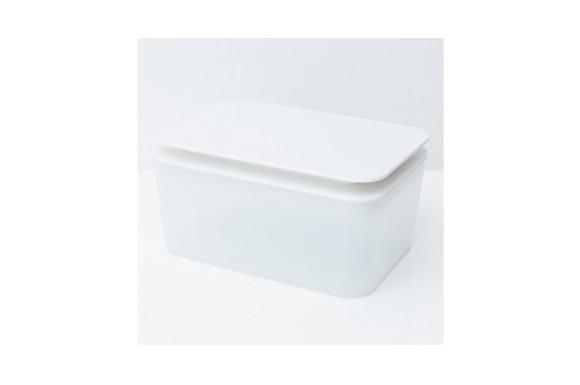 スクワットワイド 【横型ウェットティッシュケース】 ホワイト MO003-WH