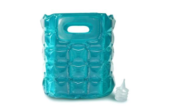 true インフラッタブル クーラーバッグ 2B(ワイン2本サイズ) エアポンプ付き (ブルー) TF0740