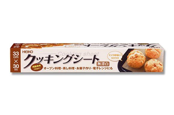 シモジマ-ヘイコー-クッキングシート-無漂白-33cmX30m-30m巻-004326253