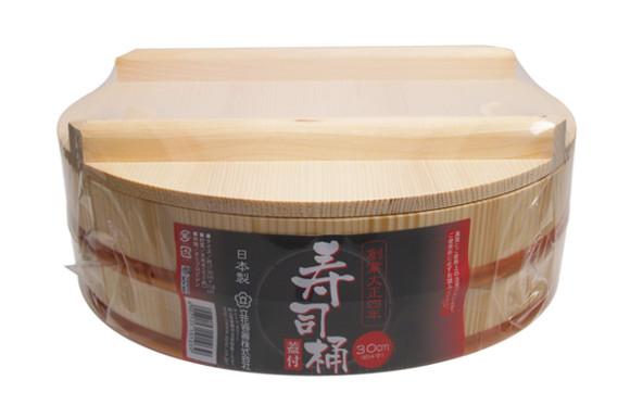 立花容器 寿司桶 30cm フタ付