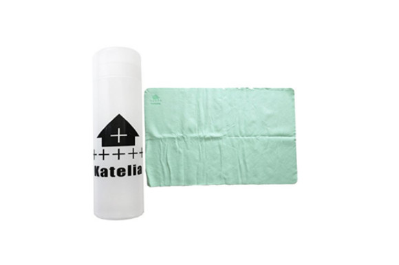 Katelia(カテリア) スイムタオル セームタオル ドライ スポーツ 速乾 超吸収 5color 2サイズ オリジナルケース付