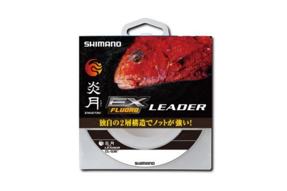 シマノ(SHIMANO) ショックリーダー 炎月 真鯛 EX フロロカーボン 30m 4.0号 クリアー CL-G26P