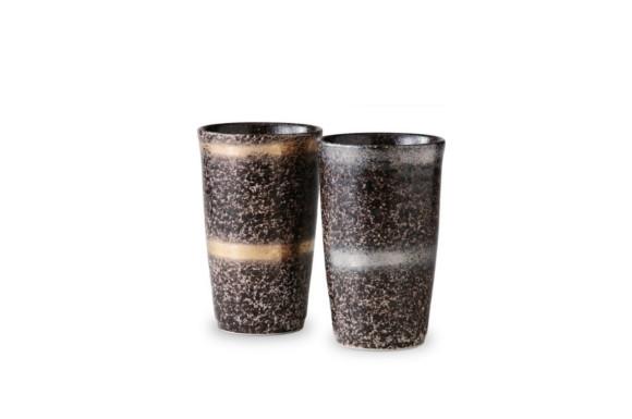 フリーカップ : 有田焼 ペア陶酒杯 輪華