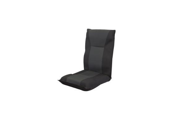 ネクスト(Next) 座椅子 フリーロック 低反発ウレタン 42段階 リクライニング ブラック