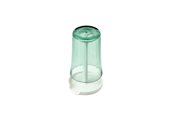 水が切れて流れる タンブラー & スタンド ( ブルー ) 抗菌 ・ 防汚加工 BB-505