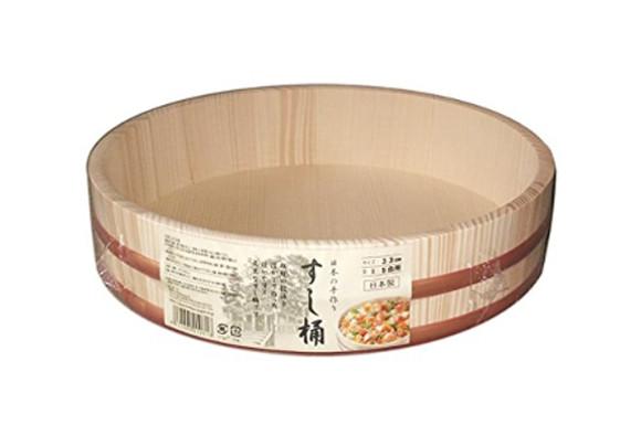 日本製 すし桶 5合 33cm(寿司桶・飯台) 星野工業