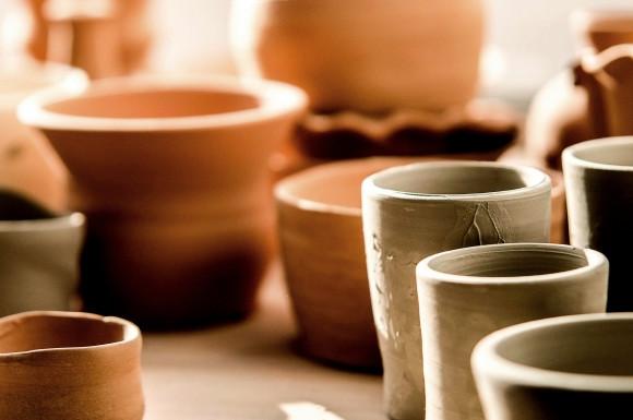 陶器グラス