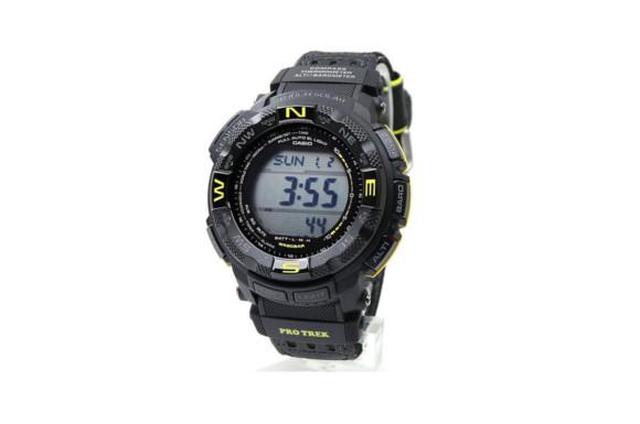 CASIO カシオ PROTREK プロトレック PRG-260G-1 タフソーラー ブラック イエロー 気圧計 高度計 温度計 方位計 交換ベルト付き デジタルコンパス アウトドア トレッキングウォッチ 登山用腕時計 [並行輸入品]