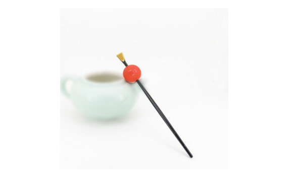 玉かんざし シンプル 一本挿し かんざし 飴玉 簪