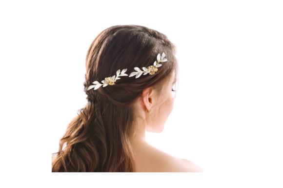 Yean簪ラインストーン かんざしU字 ピン U字型 二本差し 髪飾り 金属 かみかざり 飾り付け ヘアアクセサリー ティアラ 二股 シンプル
