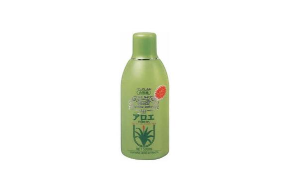 アロエ化粧水 500ml アロエエキス・コラーゲン・ローヤルゼリー・天然ローズ水配合
